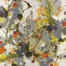 Earthcloud - Painting by Jennifer Morrison