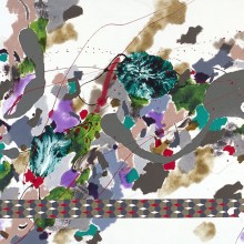 Interface - Painting by Jennifer Morrison