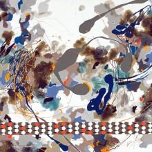 Juxtapositions - Painting by Jennifer Morrison