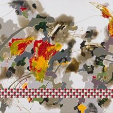 Meander - Painting by Jennifer Morrison