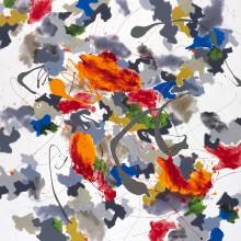 Reverberations - Painting by Jennifer Morrison