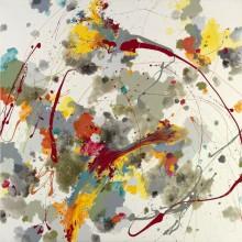 Suncloud - Painting by Jennifer Morrison