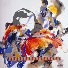 Untitled No 10 - Painting by Jennifer Morrison
