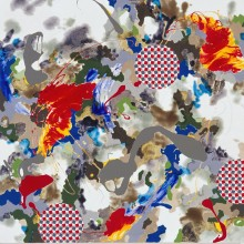 Untitled No 16 - Painting by Jennifer Morrison