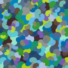 Bounce 3 - Painting by Jennifer Morrison