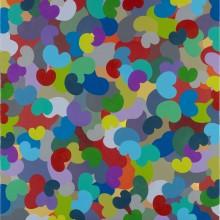 Bounce 4 - Painting by Jennifer Morrison