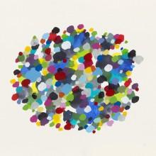 Dot Pool 5 - Painting by Jennifer Morrison