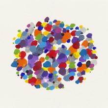 Dot Pool 1 - Painting by Jennifer Morrison