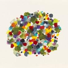 Dot Pool 2 - Painting by Jennifer Morrison
