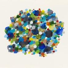 Dot Pool 6 - Painting by Jennifer Morrison