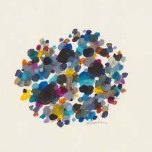 Dot Pool 8 - Painting by Jennifer Morrison