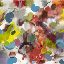Fly and Bounce - Painting by Jennifer Morrison