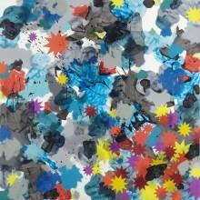 Falling Star - Painting by Jennifer Morrison