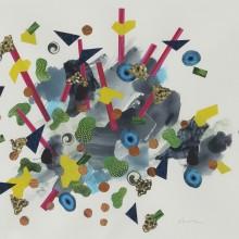 Scatter - Painting by Jennifer Morrison