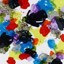 Summer (blue) - Painting by Jennifer Morrison