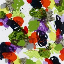 Summer (green) - Painting by Jennifer Morrison