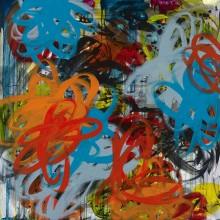 Frenzy - Painting by Jennifer Morrison