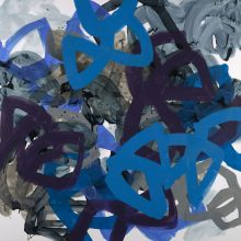 Rumble - Painting by Jennifer Morrison