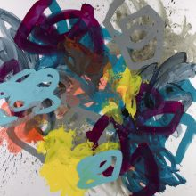 Hulllabaloo - Painting by Jennifer Morrison