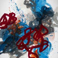 Skirmish - Painting by Jennifer Morrison