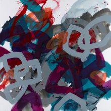Tumult - Painting by Jennifer Morrison