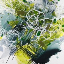 Undergrowth - Painting by Jennifer Morrison