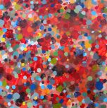 Dots II (red)