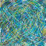 Tangle (blue)